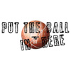 basketball, sports, wall, bricks, ball, hoop, street, urban, T-shirt, attitude, humor, saying, net