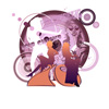 70s, art, chicks, fashion, groovy, hip, hippie, nostalgia, original, pop art, psychedelic, retro, seventies, stylish, vintage, women