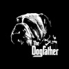 bones, bulldog, dog, famous, film, gangster, godfather, humor, humorous, mafia, movie, pet, pets, strings, words